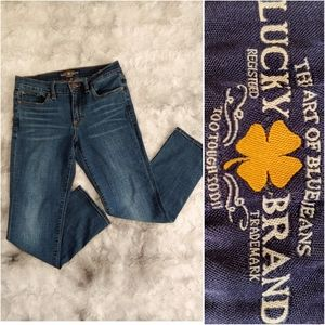Lucky Brand Sweet Crop Whiskered Flap Pockets